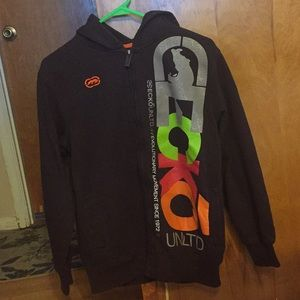 Like new youth boys zip up hoodie size L